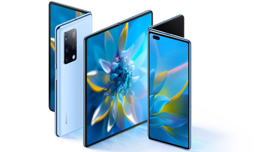 The Huawei Mate X2- Foldable smartphone from Huawei!