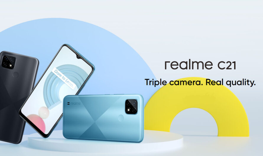 Realme C21 is official with triple camera and 5000mAh battery!