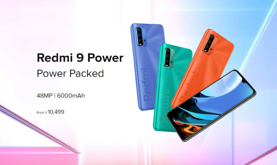 Xiaomi Redmi 9 Power – The budget battery Champ!