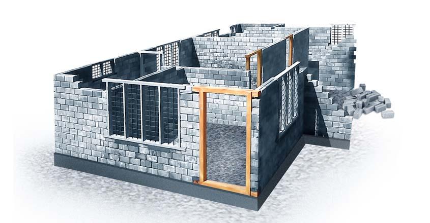 How To Make Dual Compressed Interlocking Brick!